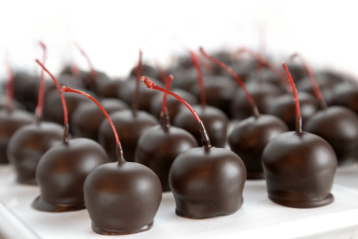 The Cordial Cherry chocolate covered cherries corporate client gift box Christmas 1